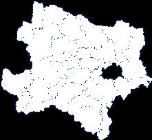 Bundesland Niederösterreich (anklickbare Karte)